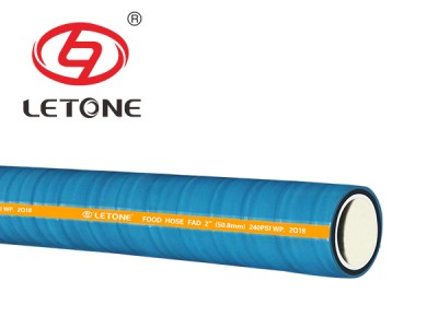 240 PSI food&beverage suction discharge hose