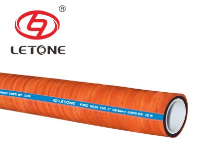 150PSI food discharge hose